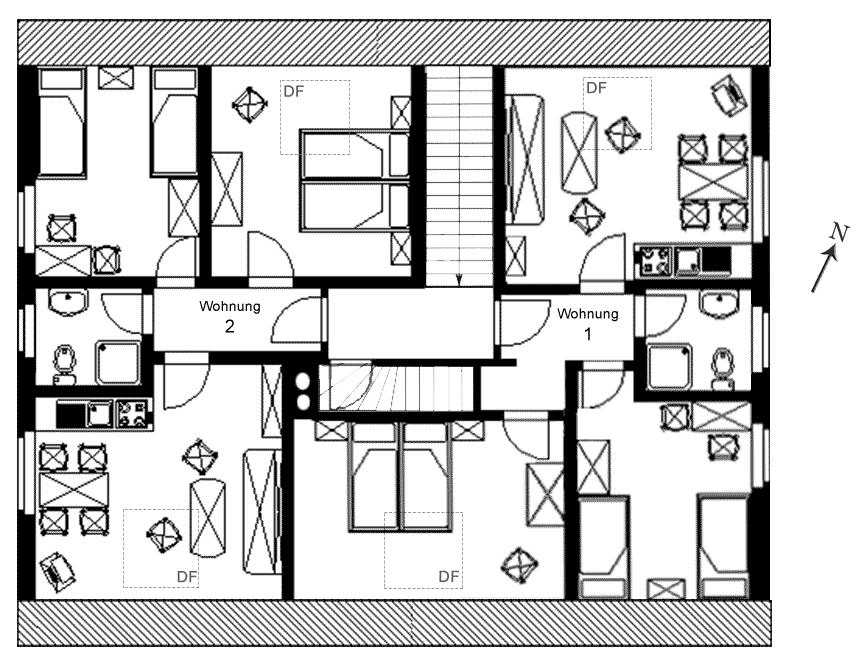 ferienwohnung 1 f r 2 bis 4 personen 55qmferienwohnung. Black Bedroom Furniture Sets. Home Design Ideas